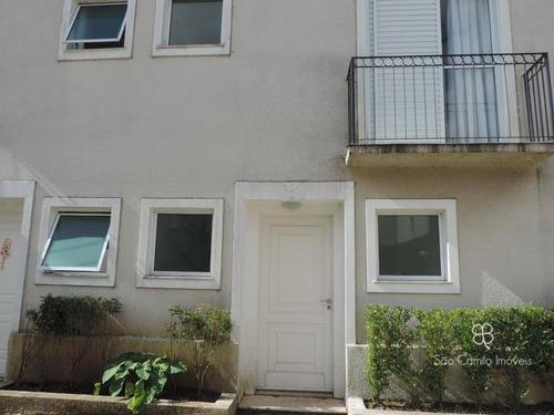 Casa Com 3 Dormitórios À Venda, 105 M² Por R$ 700.000,00 - Granja Viana - Carapicuíba/sp - Ca0852