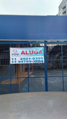 Terreno Para Alugar, 800 M² Por R$ 10.000/mês - Vila Guarani(zona Sul) - São Paulo/sp - Te0111