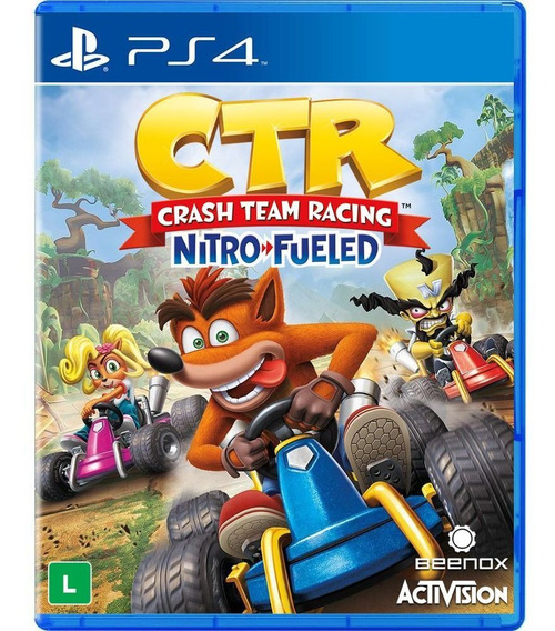 Crash Team Racing Nitro Fueled Ps4 Digital Psn Vitalício