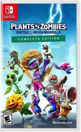 Imagen 1 de 5 de Plantas Vs Zombies Battle For Neighborville Switch Fisico