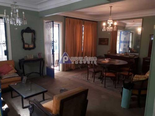 Casa De Rua À Venda, 3 Quartos, 1 Vaga, Copacabana - Rio De Janeiro/rj - 19164