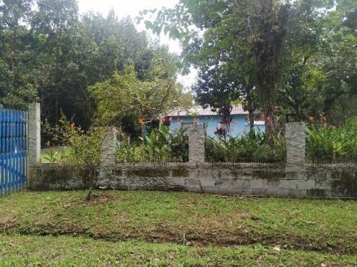 Chácara Com 01 Suíte E Lago Em Itanhaém - 7747