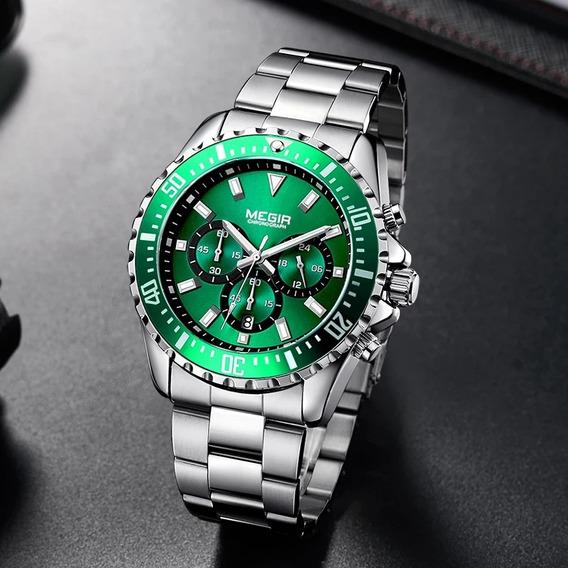 Relógios Marca De Luxo Megir De Negócios