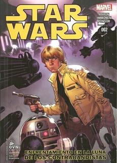 Star Wars #2 - Enfrentamiento En La Luna De Los Contrabandis