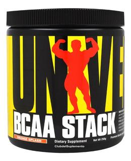 Bcaa Stack Universal Glutamina Aminoacidos Leucina Valina