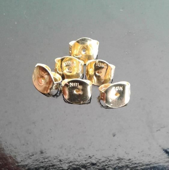Tarraxa De Ouro 18k 750 - P/ Brinco Valor Unitario - 0,5mm