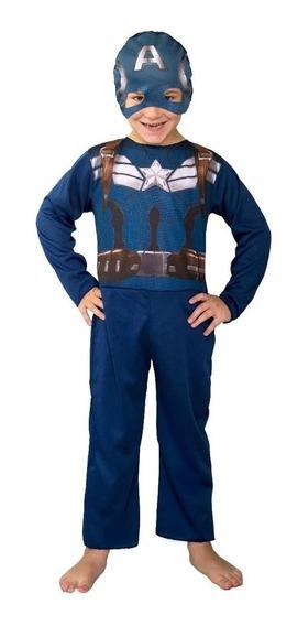 Disfraz Capitan America Marvel New Toys Original Playking
