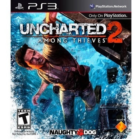 Uncharted 2 Among Thieves Ps3 Mídia Física Semi Novo