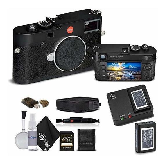 Camara Leica M10 Digital Rangefinder Black Sony 64gb Memor ®