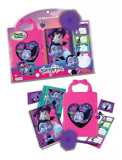 Set Mi Album Cuaderno Secreto Vampirina Disney Babymovil