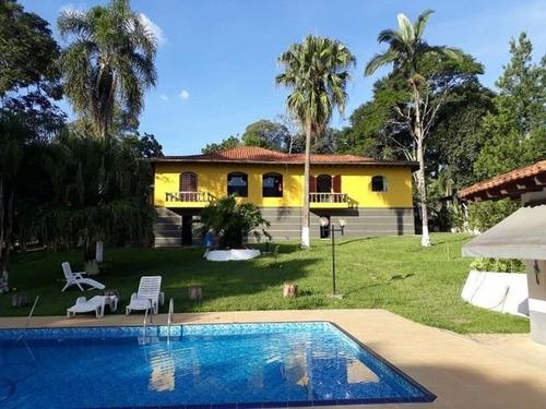 Imagem 1 de 6 de Chácara Com 5 Dormitórios À Venda, 6000 M² Por R$ 3.191.000 - Centro (canguera) - São Roque/sp - Ch0055