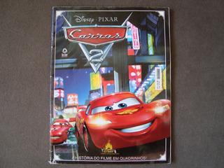Hq Gibi Disney Pixar Carros 2 História Quadrinhos - Frete 8,
