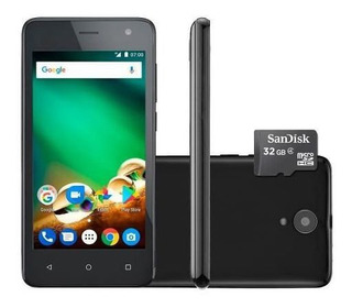 Smartphone Multilaser Ms45 8gb + 32gb Tela 4,5 1gb 4g Nb748