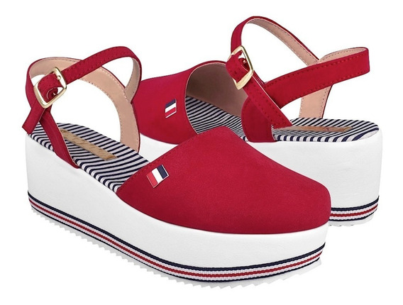 Zapatos Casuales Para Dama Stylo 6007 Rojo