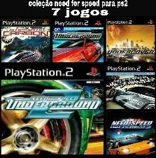 Need For Speed Para Ps2 Desbloqueado Coleção