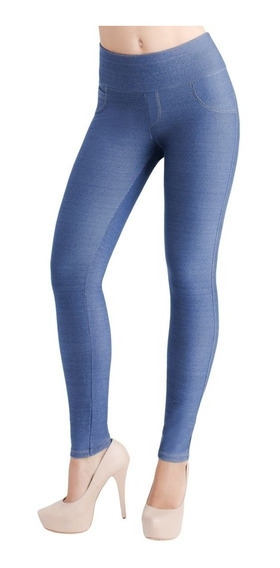 Jeggings/control Alto Ilusion 43867 Talla Normal/extra Push