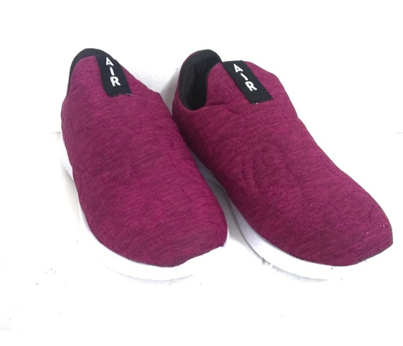 Zapatillas Mujer Deportivas Sin Cordones