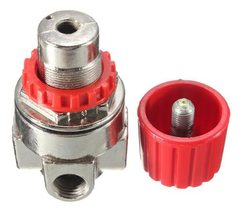 Dpofirs Regulador para compresor de Aire regulador de Conector 2-G1//4 con man/ómetros 3000L//min regulador de v/álvula de Control de Interruptor de presi/ón de compresor de Aire