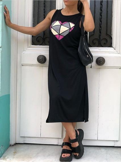 Vestido Corazon Geo