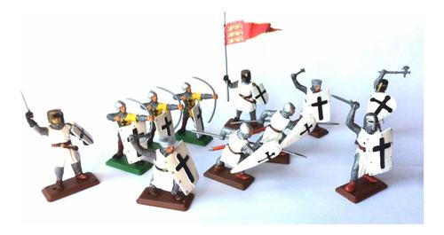 Soldados Medievales Cruzados - Set Especial Premium