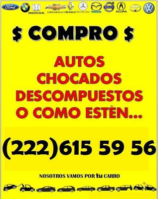 Compro Autos Chocados Descompuestos