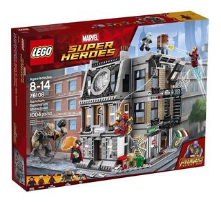 Lego Marvel Avengers Infinity War Sancta Sanctorum 76108