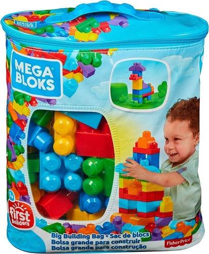 Imagen 1 de 1 de Fisher Price Megablocks Primeros Bloques Bolsa Dch63