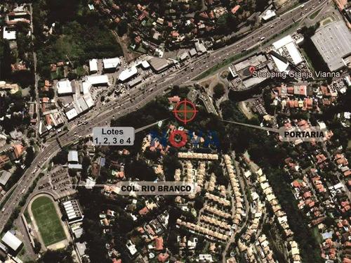 Imagem 1 de 15 de Terreno À Venda, 509 M² Por R$ 750.000,00 - Villa Vianna - Cotia/sp - Te1037