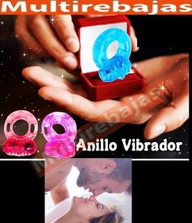 Anillo Vibrador Estimulador Sexual Erección Prolongada
