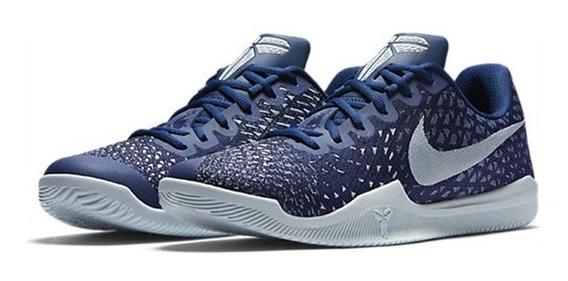 Zapatillas Nike Mamba Instict Blue Basquet Profesional