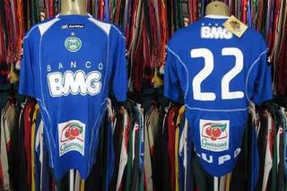 Coritiba 2009 Camisa De Goleiro Tamanho G Número 22.
