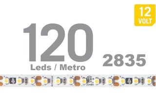 Tira Led 2835 120 Led / Mt Frio 5 Metros 2000 Lm Potente