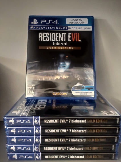 Resident Evil 7 Biohazard Gold Edit. Ps4 Mídia Física Pt Br