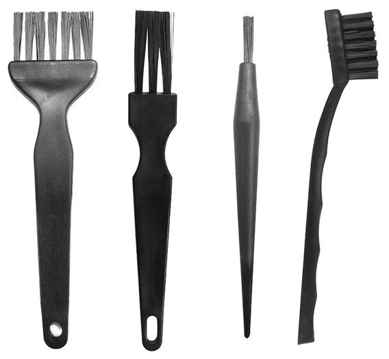 Kit 3 Pincel E Escova Antiestático Esd P/ Limpeza De Placas