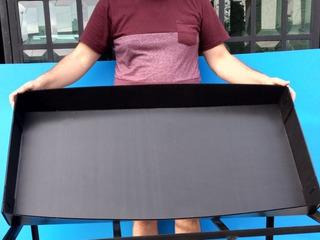 3 Bases De Coroplast De Repuesto Para Jaula Colores Surtidos