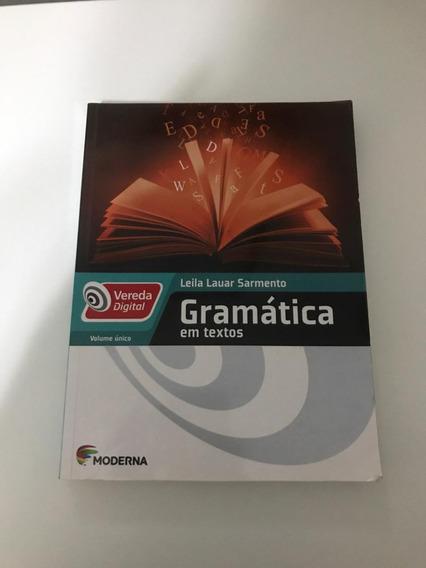 Gramática Em Textos 3ª Edição