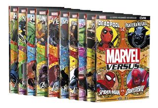 Clarín Colección Completa De Libros Marvel Versus