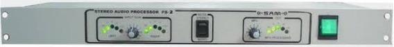 Kit Processador Áudio Fm Gerador Stereo Antena Transmissor