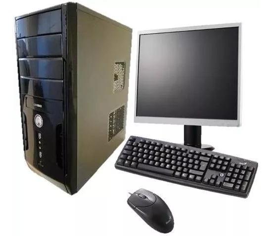 Computador Completo Novo Core 2 Duo 2 Gb,hd 160gb,wifi,dvd