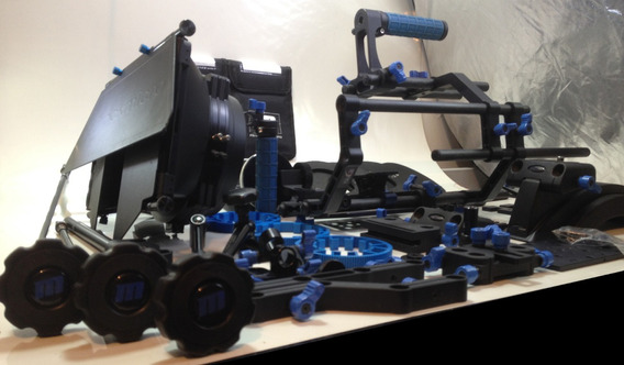 Redrock Kit Cinema Completo 5d Mark 3 - Bm 4k Torrando