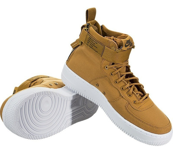 Bota Nike Sf Af1 Mid (gs) Aj0424 Air Force One 24 25 Cm