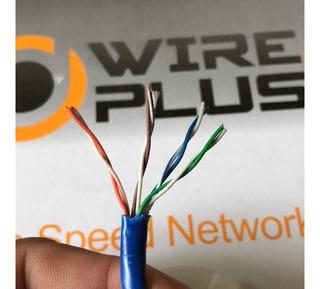 Cable De Red Cobre, Utp Cat 5e, Flexible, 305 Metros, Alarm