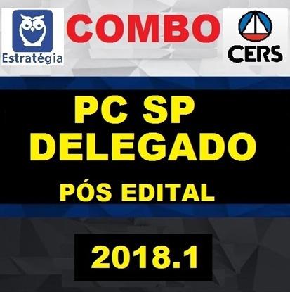 Combo Delegado De Goiás. Pc-go Garantia De Atualização