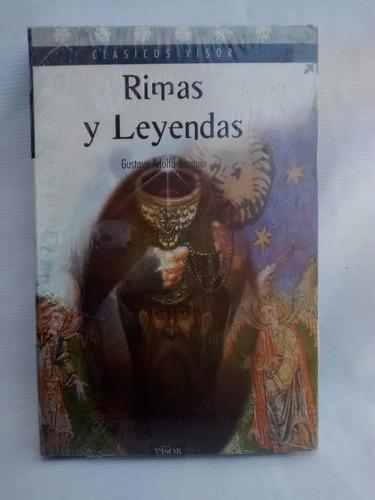 Rimas Y Leyendas Gustavo Adolfo Becquer Editorial Visor
