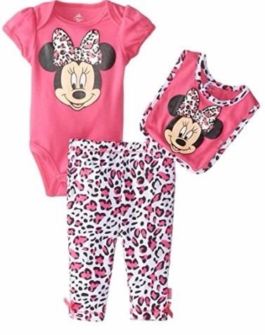 Conjunto Minnie Baby Disney