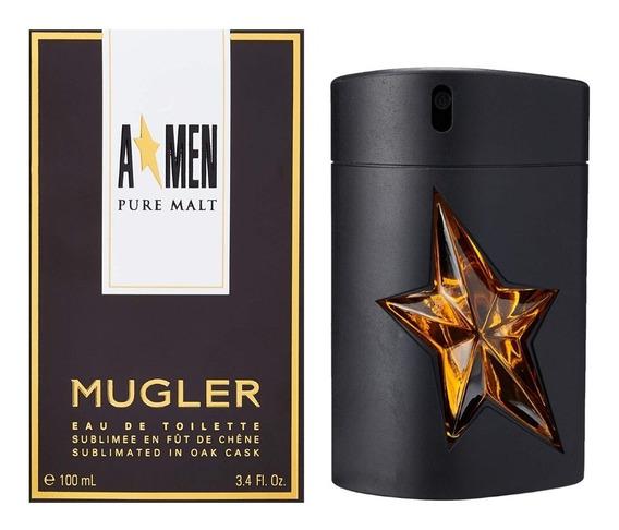 Perfume Masculino Thierry Mugler A*men Pure Malt 100ml