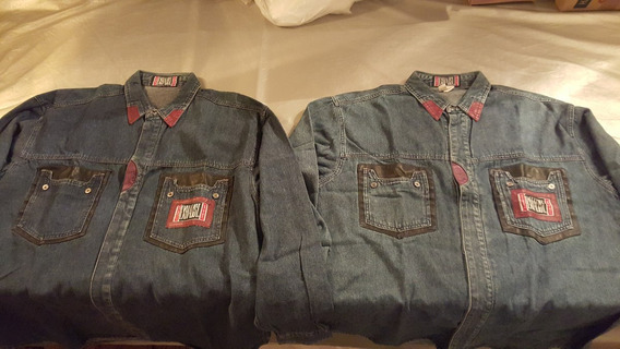 Camisas 2 De Mesclilla M Y G Vintage 80s