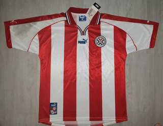 Camisa Paraguai Puma 1999, Santa Cruz 24 Na Etiqueta Xl