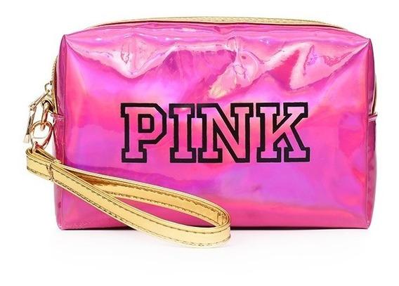 Cosmetiquera Unicornio 3d Pink Organizador De Cosmeticos