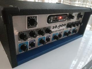 Amplificador De Sonido Con Bluetooth Para 4 Parlantes